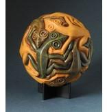 Mouseion MC. Escher Sphäre Kugel mit Reptilien - 1949