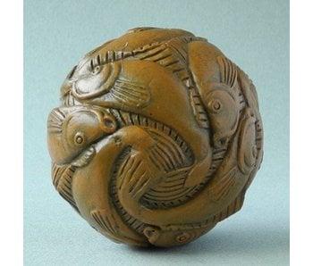 Mouseion Escher minuatur sphere of Fish (1938)