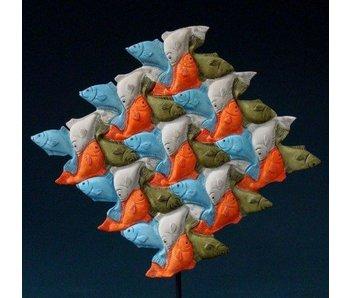 Mouseion Escher Vissen driehoek