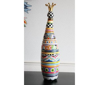 Toms Drag Decorative Bottle, vase