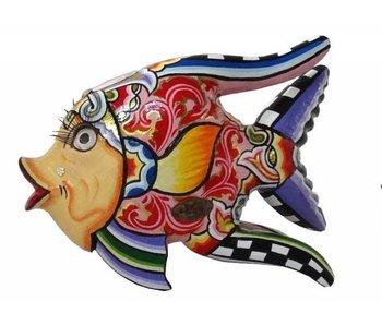Toms Drag Vis Oscar rood - M