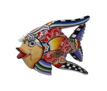 Toms Drag peces Oscar en rojo - S