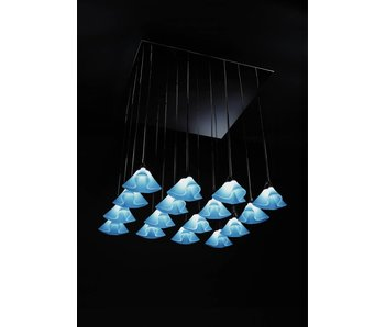 QisDesign Coral Suspension - Frosted white -