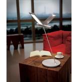 QisDesign Seagull - LED table lamp / reading lamp