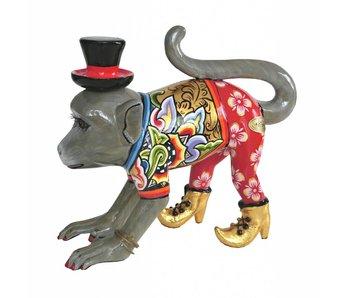 Toms Drag Apenbeeldje, lopende aap Mr. Nilsson - L