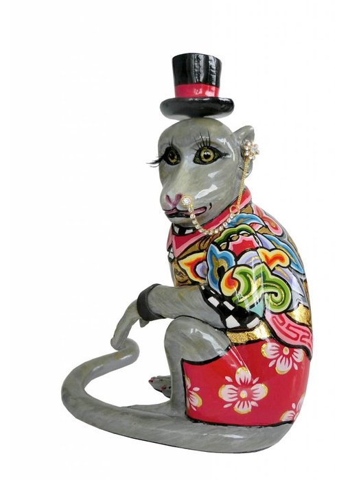 Toms Drag Monkey figurine Mr. Nilsson, sitting - S
