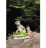 Toms Drag Monkey figurine Nilsson, sitting - L