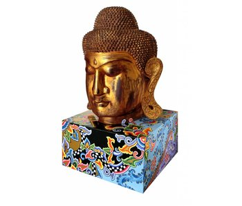 Toms Drag Boeddha  op sokkel - XL (OP = OP)