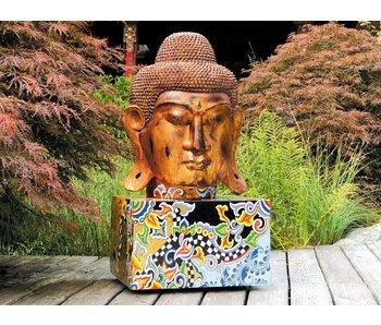 Toms Drag Boeddha  op sokkel - XL