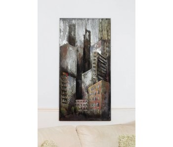 Wanddecoratie metaal, New York