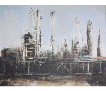 Pintura de fábricas industriales