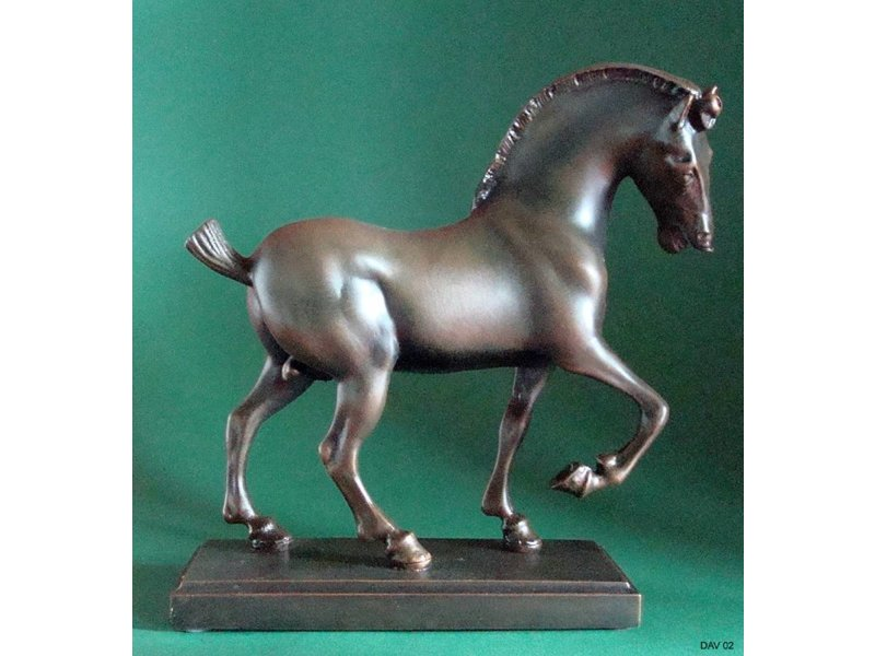 Mouseion Paard - Cheval Da Vinci-School