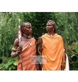 Mouseion Masai Skulptur Noble Companions