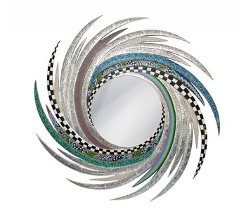 Toms Drag Spiegel New Energy, Silver Line - L