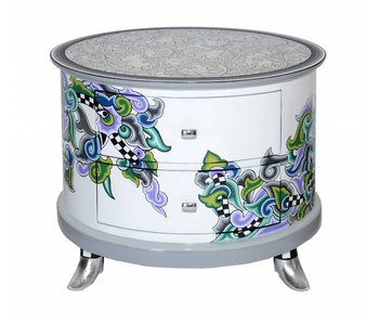 Toms Drag Cabinet Ronda, oval commode