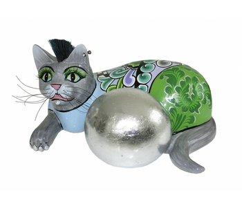 Toms Drag Cat Silver Ball - L