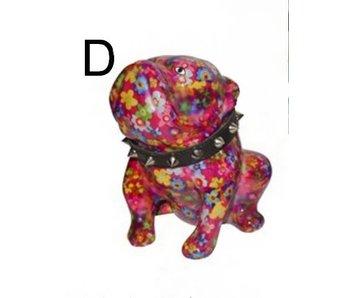 Pomme-Pidou English bulldog Lizzy money-bank