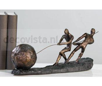 Skulptur Bündelung der Kräfte