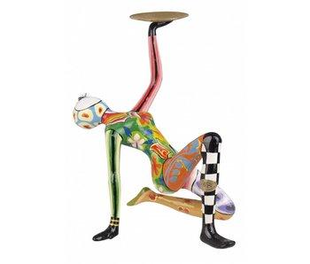 Toms Drag Acrobaat met schaal