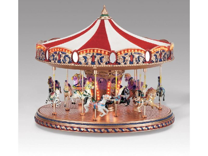Mr Christmas Carousel.Carousel