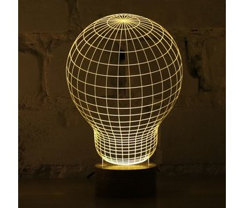 Bulbing Light Bombilla en 2D