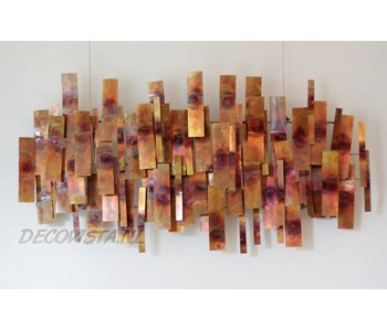 C. Jeré - Artisan House Wall sculpture Indulgence - Copper