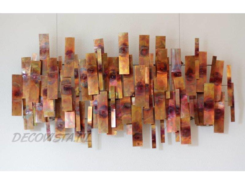 C. Jeré Indulgence - koperen wanddecoratie