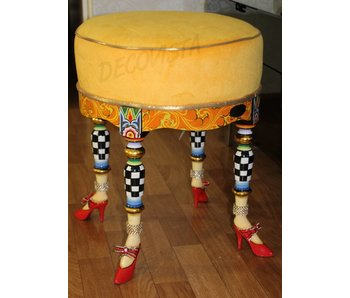 Toms Drag Hocker - Sitz Versailles Collection