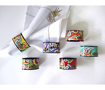 Toms Drag Napkin ring set