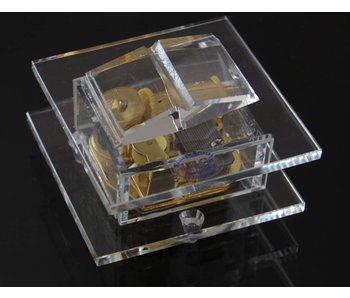 Kristall Glas-Spieluhr - Buch