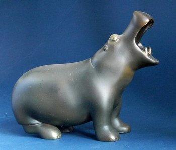 Pompon Hippopotame - hippopotamus