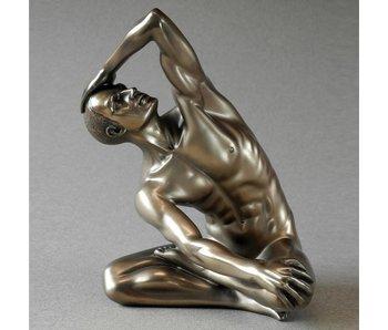 BodyTalk Mannelijk naakt, exercising - L