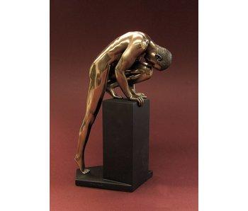 BodyTalk Stretching athlete,  nude bodybuilderfigurine - M