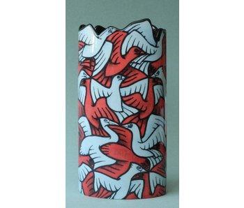 Mouseion florero de Escher - Birds, Regular Division