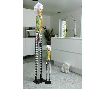 Toms Drag Personaje imagen cocinero Paul - 170 cm