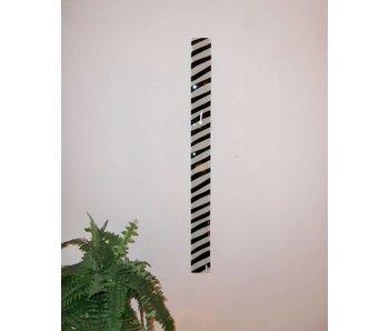 Carneol Wandklok Zebra 98 cm