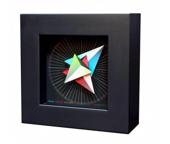 CleverClocks Wandklok of tafelklok Triangle