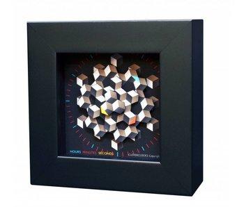 CleverClocks Reloj Hexagon  - S / M