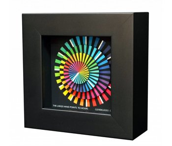 CleverClocks Clock Spectrum, wall clock and table clock