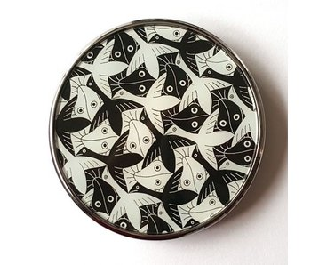 Mouseion Pocket Mirror, Birds-Fishes MC Escher
