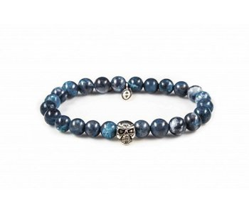 Karma Blue Waters Skull pulsera - unisex
