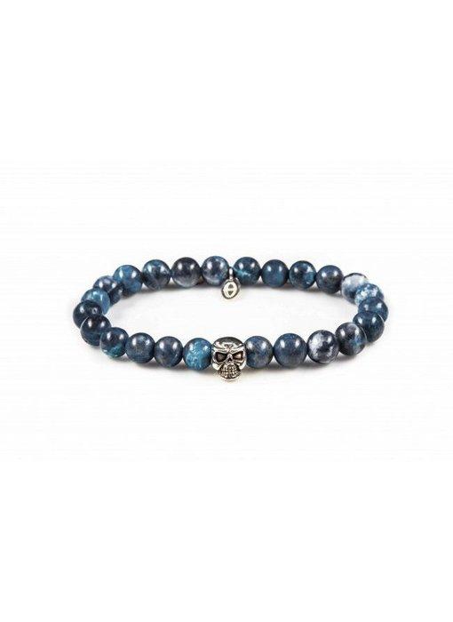 Karma Karma Armband Blue Waters Skull - unisex
