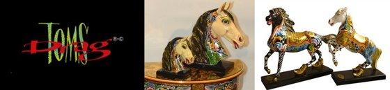 Paarden beelden
