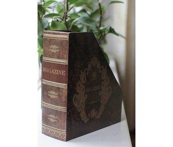 Baroque House of Classics Tijdschriftenhouder als klassiek boek- B