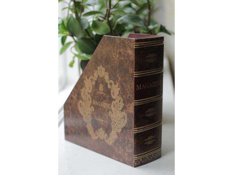 Baroque House of Classics Tijdschriftenhouder als klassiek boek - B