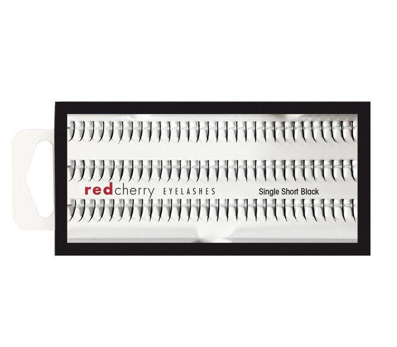 Red Cherry Individual Lashes Short Single
