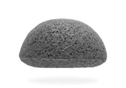 The Konjac Sponge Facial Puff Bamboo Charcoal