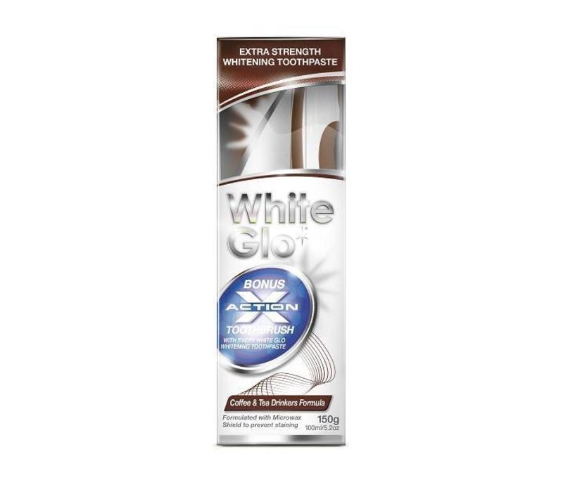 White Glo Coffee and Tea Drinkers Formula Toothpaste