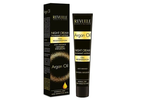 Revuele Face Night Cream Argan Oil