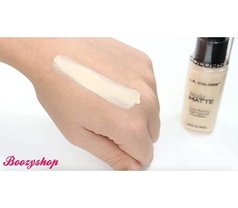 LA Colors Truly Matte Foundation Porcelain